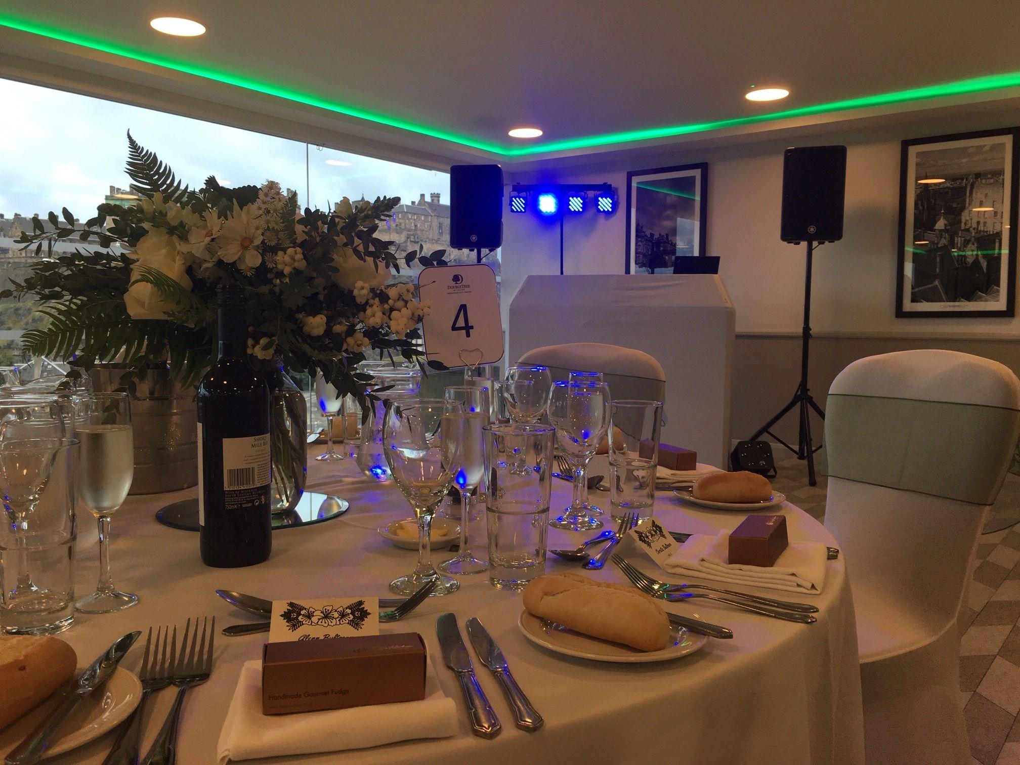 Intimate Wedding - Hilton Skybar